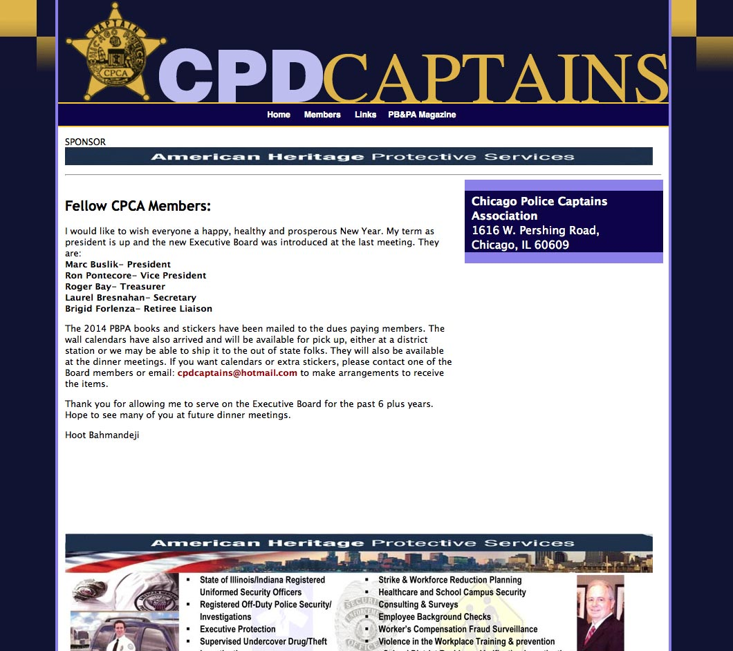 CPD Captains Association