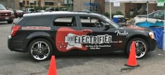 Electrified vehicle wrap