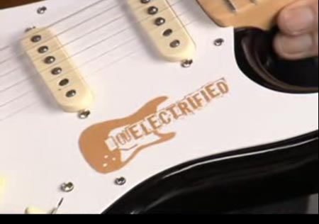 Electrified custom guitar