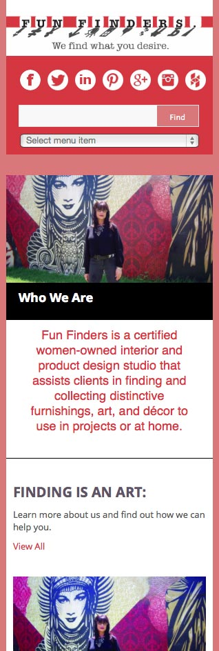 Fun Finders mobile